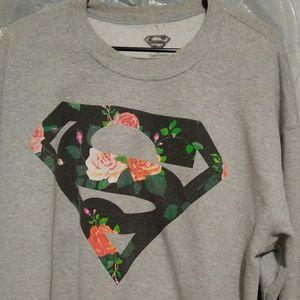 Superman gray sweatshirt